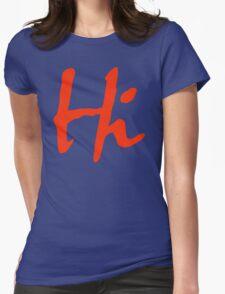 Hi 2 Womens Fitted T-Shirt