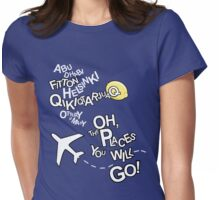 Seat Belts On Please Womens Fitted T-Shirt