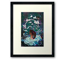 Delicate Distraction Framed Print