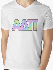 Alpha Delta Pi Cute Mens V-Neck T-Shirt
