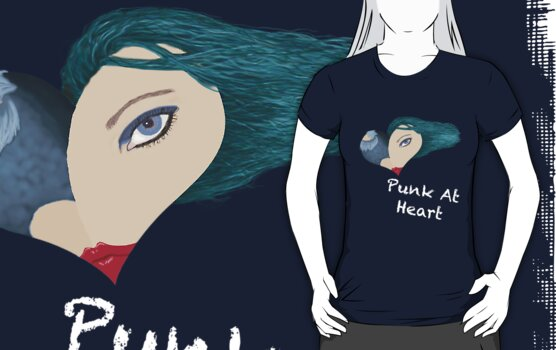 Punk At Heart (Blue) Dark by Brinjen