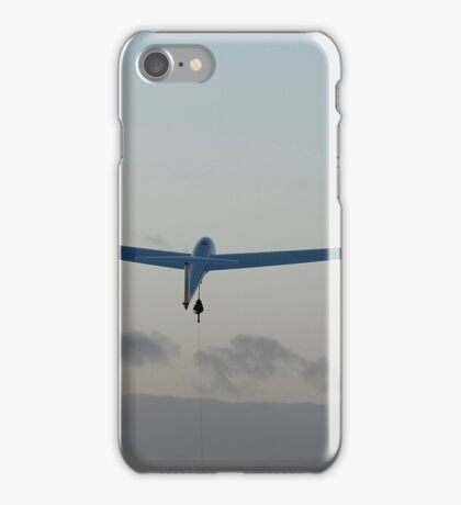 Glider launch at sunset. iPhone Case/Skin