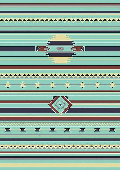 Aztec Pattern by gameriot
