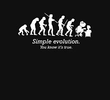 Evolution to Forever Alone Unisex T-Shirt