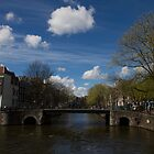 The Brouwersgracht by Dennis  Veldman