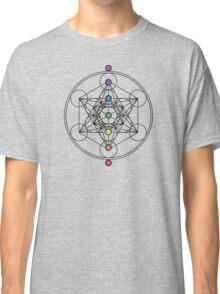 Metatron's Cube Chakras Classic T-Shirt