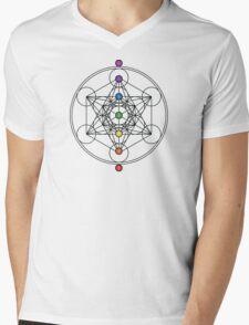 Metatron's Cube Chakras T-Shirt