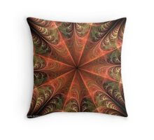 Web Of Desire Throw Pillow