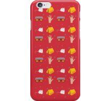 Tenenbaum Pattern iPhone Case/Skin
