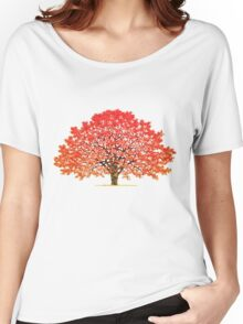 Maple Tree 1 Women's Relaxed Fit T-Shirt