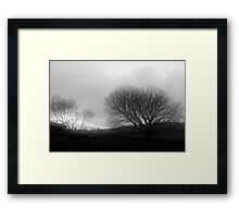 Land of myth and magic Framed Print