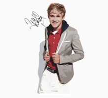 Niall Horan Art with Autograph T-Shirt by kmercury