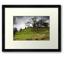 Uther's Hill Framed Print