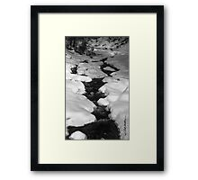 Chateauguay Stream Framed Print