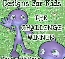 design for kids, challenge winner by LoneAngel