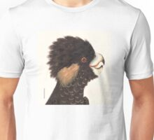 Yellow-tailed Black Cockatoo Unisex T-Shirt