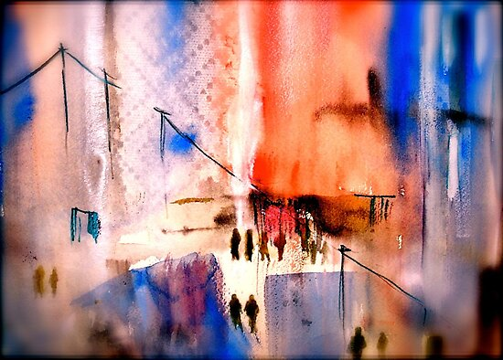 The Streets...Spring by © Janis Zroback
