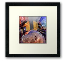 R:X:R // Refraction : Surface : Refraction Framed Print