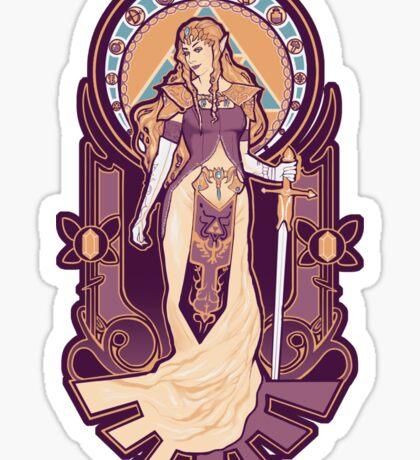 Zelda Nouveau Sticker