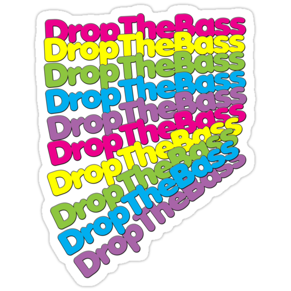 Drop The Bass (Rainbow Color)  by DropBass