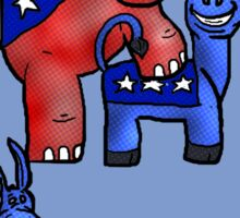 Political Party Sticker