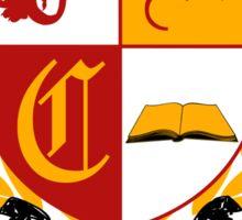 Camelot University (Big, Colour) Sticker