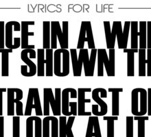 Grateful Dead Lyrics for Life No.1 Sticker