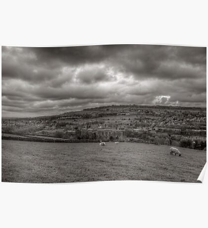 Yorkshire Hills Poster