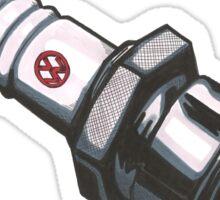 VW sparkplug Sticker