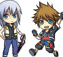 KH - Sora/Riku set by banafria