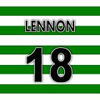 CFC Neil Lennon Shirt Design  by Sookiesooker