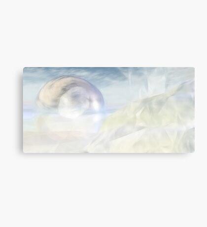 Plushy White Canvas Print