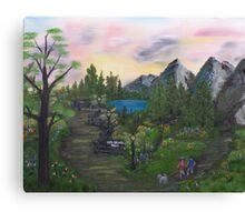 Vista DeLago Park Canvas Print