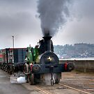 SteamTrain at Chatham. by Thasan