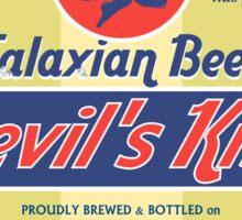 DEVIL'S KISS TALAXIAN BEER  Sticker