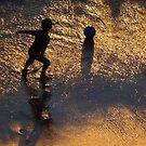 Boy And Ball - Niño Y Pelota by Bernhard Matejka