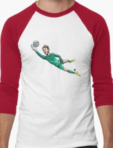 Diving Save Men's Baseball ¾ T-Shirt