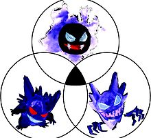 venn ghost types by HiddenStash