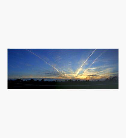 Sunset Squadron Photographic Print