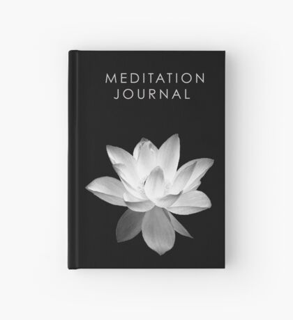7 DAY'S OF SUMMER-YOGA ZEN RANGE- BLACK LOTUS JOURNAL Hardcover Journal