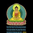 BUDDHA BLESSINGS - iNSPIRED QUOTE by SOL  SKETCHES™