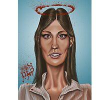 """Deb"" - Jennifer Carpenter's Caricature  Photographic Print"