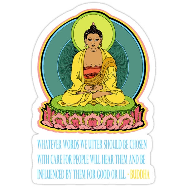 BUDDHA BLESSINGS - iNSPIRED QUOTE by S DOT SLAUGHTER