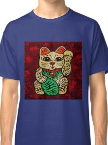 'Shiny Lucky Cat' Classic T-Shirt