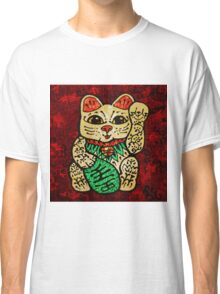 'Shiny Lucky Cat' Classic T-Shirt