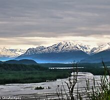 River mountain beauty by Erika Price