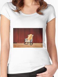 Rock n' roll Women's Fitted Scoop T-Shirt