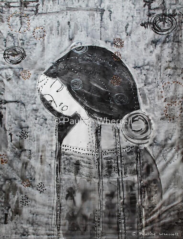 Inspired by Klimt 2 by © Pauline Wherrell