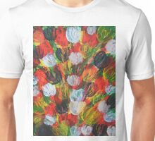 Explosion of Tulips Unisex T-Shirt