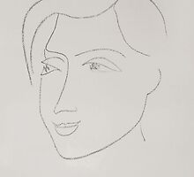 L.D. in three-quarter profile, 1946 by Henri Matisse by masterworks